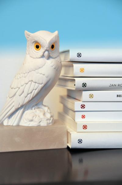 Foto von Bücherauswahl des Eckhaus Verlages