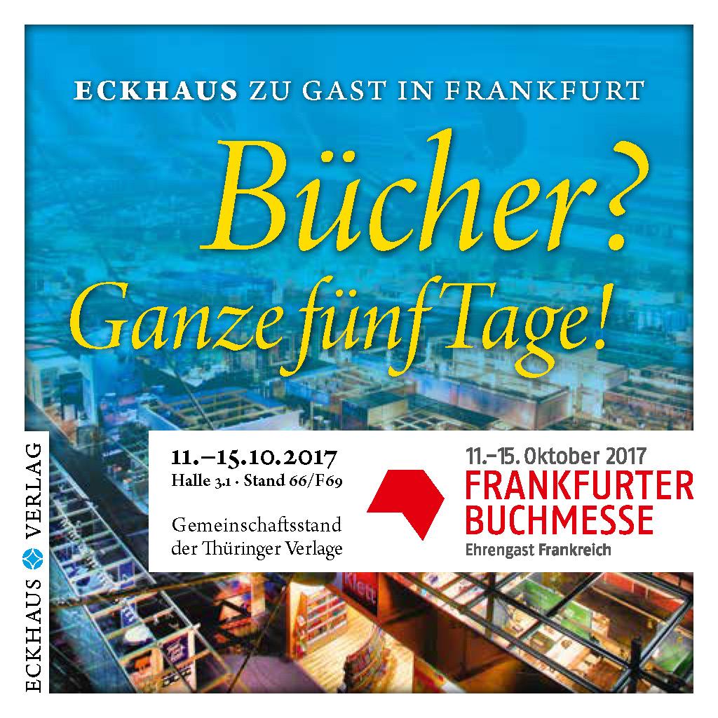 Anzeige Frankfurter Buchmesse
