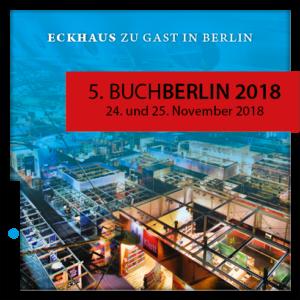 Design Eckhaus Verlag auf der BuchBerlin 2018 Messe