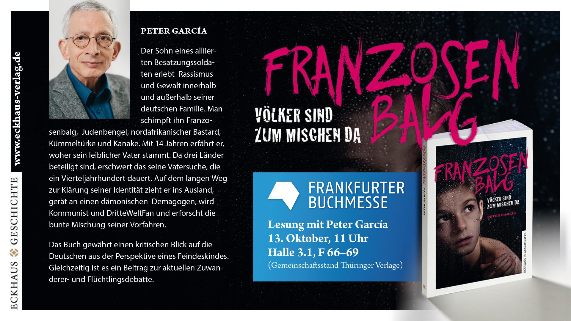 """Grafik """"Franzosenbalg"""" bei der Frankfurter Buchmesse"""