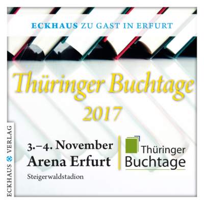 Grafik Eckhaus Verlag Thüringer Buchtage