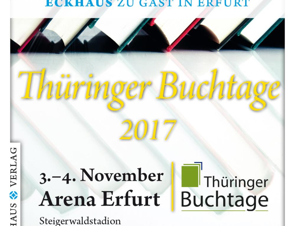 Der Eckhaus Verlag ist bei den Thüringer Buchtagen dabei