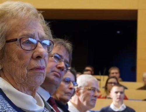 Gesprächsabend mit Eva Schloss vom 26.1.2017 in der Konrad-Adenauer-Stiftung in Berlin