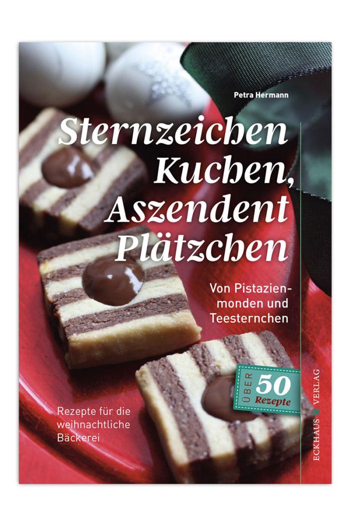 Buchcover Sternzeichen Kuchen Aszendent Plätzchen Petra Hermann