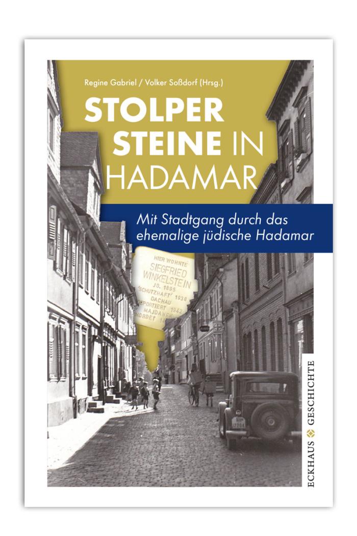 Buchcover Stolpersteine in Hadamar