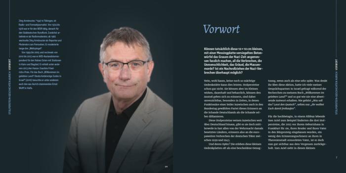 """Vorwort """"Spurensuche gegen das Vergessen"""""""
