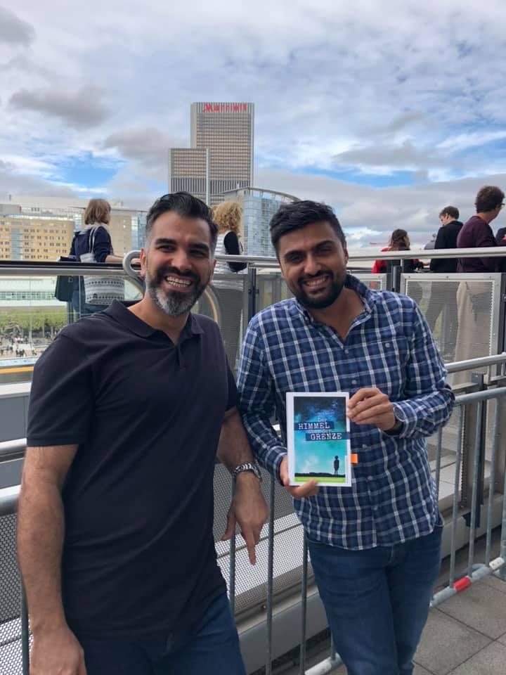 Foto von Said Boluri und Adil Demirci Buchmesse FFM 2019