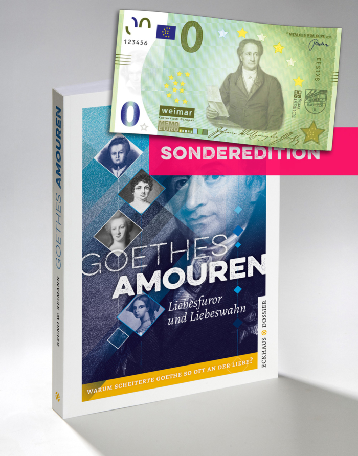 Buchcover Goethes Amouren - Sonderedition