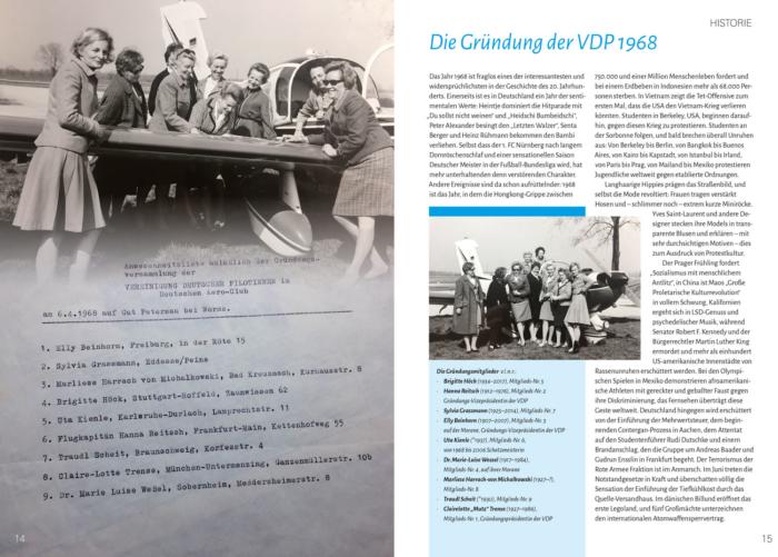 Lust auf Fliegen - Buchvorschau der Seiten 14 und 15