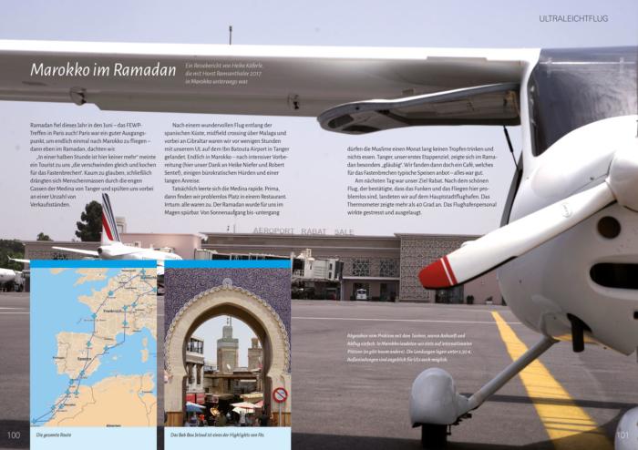 Lust auf Fliegen - Buchvorschau der Seiten 100 und 101
