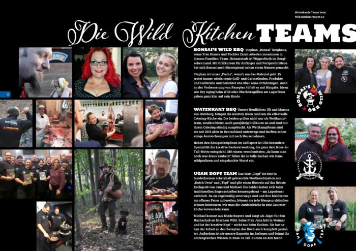 Buchvorschau Wild Kitchen Project 2.0