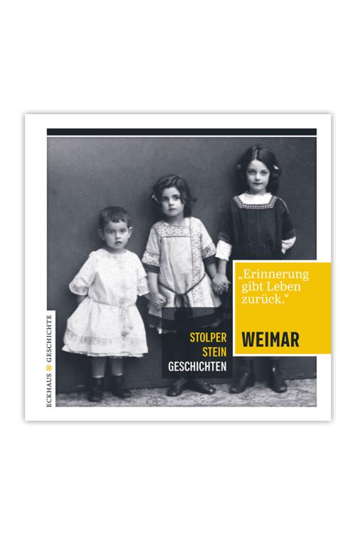 Buchcover Stolperstein Geschichten Weimar