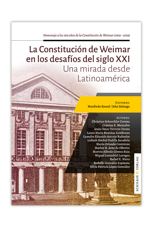 Buchcover La Constitución de Weimar en los desafíos del siglo XXI