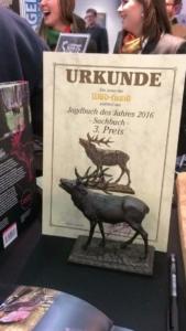 Foto Wild Kitchen Project - Urkunde der Verleihung zum Sachbuch des Jahres - 3. Preis