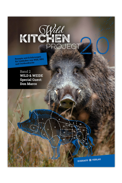 Buchcover Wild Kitchen Project 2.0